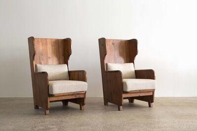 Axel Einar Hjorth, 'Pair of Axel Einar Hjorth Easy Chairs, Nordiske Kompaniet, 1930s', ca. 1930