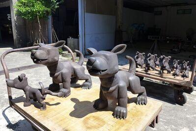 Huang Poren, 'A set of 3 works', 2005-2006