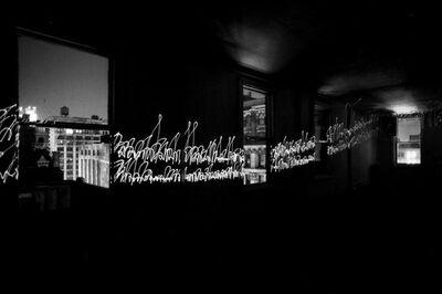 Erich Hartmann, 'Laserlight ; New York City', 1978