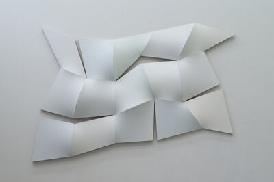 Jan Maarten Voskuil, 'Improved Dynamic Monochrome broken white', 2015