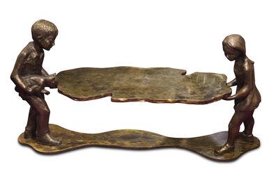 "Philip and Kelvin LaVerne, '""Generation"" Sculptural Table', ca. 1964"