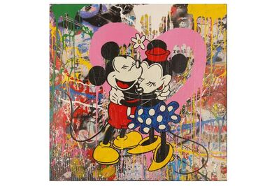 Mr. Brainwash, 'Mickey & Minnie', 2015