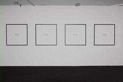 Timm Ulrichs, 'bild', 1966