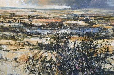 Chris Prout, 'Summer heat breaking - Pitsford', 2019