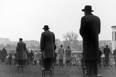 Sabine Weiss, 'Courses à Auteuil, Paris', 1952