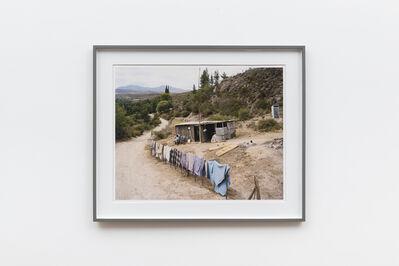 David Goldblatt, 'Sarie Fink doing her hair, Kleine River, Buffelsdrif, Western Cape', 2004