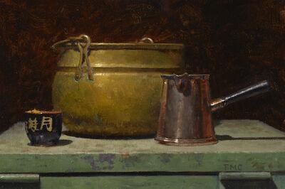 Todd M. Casey, 'Bronze, Copper and Clay', 2019