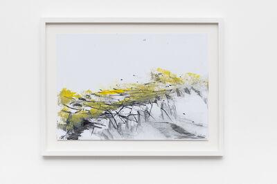 Sabine Moritz, 'Field II (yellow/grey', 2017