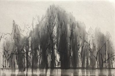Norman Ackroyd, 'Hood Hill', 2019