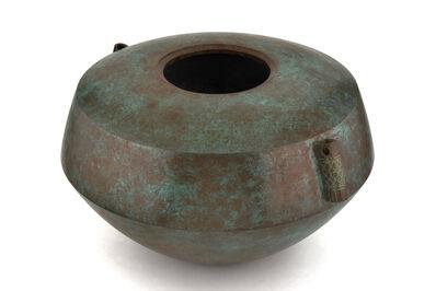 Toyochika Takamura, 'Japanese Bronze Vase'
