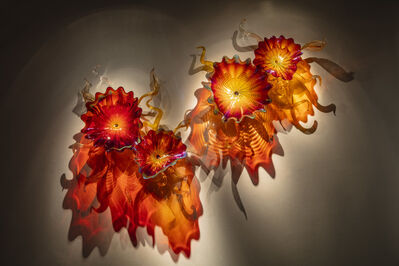 Dale Chihuly, 'Copper Ruby Persian Wall Sconce', 2019