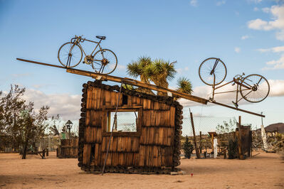 Noah Purifoy, 'No Contest (bicycles)', 1991