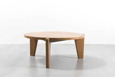 Jean Prouvé, 'Low Pedestal Table', ca. 1950