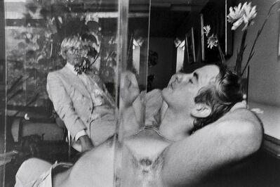 Duane Michals, 'David Hockney with Friend', 1975