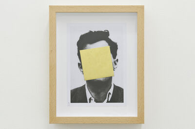 Francesco Arena, 'Ludwig with brass square', 2014