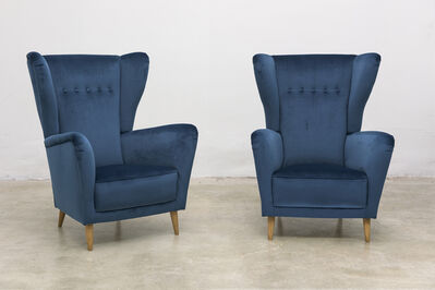 Unknown, 'Pair of Italian Armchairs Attributed to Ico and Luisa Parisi, circa 1955', 1955's