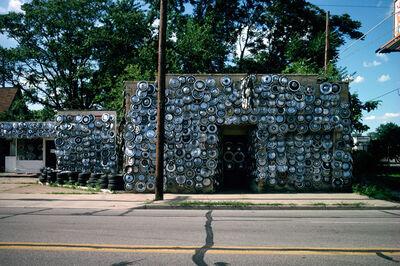 John Baeder, 'Hubcaps, Evansville, IN', 1978