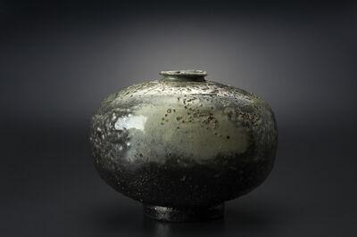 Masaya Yoshimura, '粉引墨染扁壷', 2013