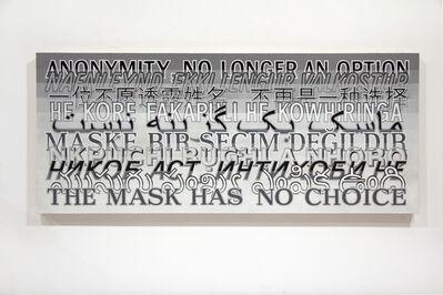 Joe Amrhein, 'ANONYMITY (TRANSLATION)', 2015