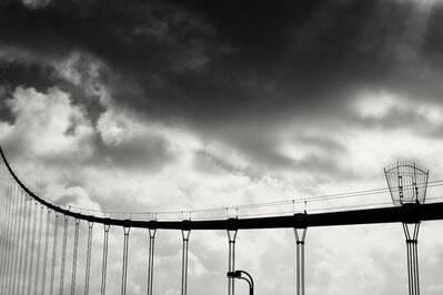 Cara Weston, 'Golden Gate and Clouds'