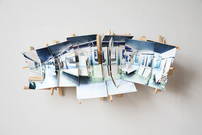 Isidro Blasco, 'Subway Car', 2016
