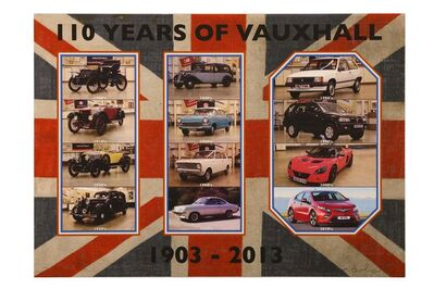 Peter Blake, '100 Years of Vauxhall', 2013