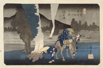 Utagawa Hiroshige (Andō Hiroshige), 'Karuizawa', 1830