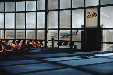 Harry Gruyaert, 'Las Vegas airport, Nevada, USA, 1982', 1982