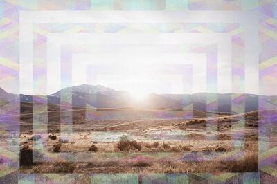 Sarah Anne Johnson, 'Yellowstone Sunset', 2018