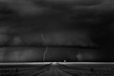 Mitch Dobrowner, 'Road, Near Guymon Oklahoma', 2009