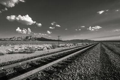 Christopher John Brown, 'Train Tracks Through the Desert', 2013