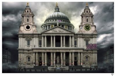JJ Adams, 'St. Paul's Cathedral', 2013