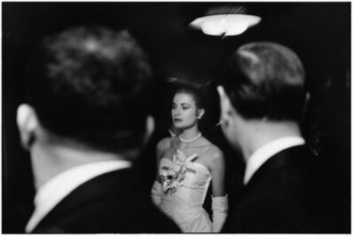 Elliott Erwitt, 'The engagment party of Grace Kelly & Prince Rainer of Monaco at the Waldorf-Astroia. New York', 1956