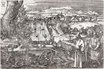 Albrecht Dürer, 'Landscape with a Cannon ', 1518