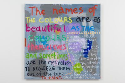 Angela Brennan, 'The Lives of the colours', 2018