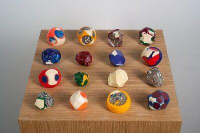 Nicolas Lamas, 'Billiard balls', 2014