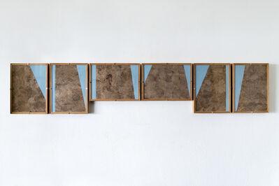 Dario Escobar, 'Composiciones Azules No.6', 2016