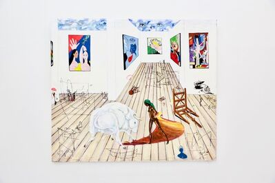 Ealy Mays, 'Cleaning Up Picasso's Studio', 2015
