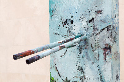 Mark Grotjahn, 'Untitled (Blue Face, Italian Mask M30.a)', 2013