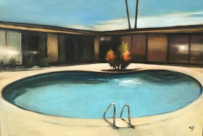 Scott Yeskel, 'His Modern Pool', 2018