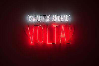 Alfredo Jaar, 'Oswald de Andrade VOLTA!', 2017