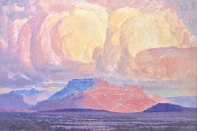 JH Pierneef, 'Karoo landscape', ca. 1930