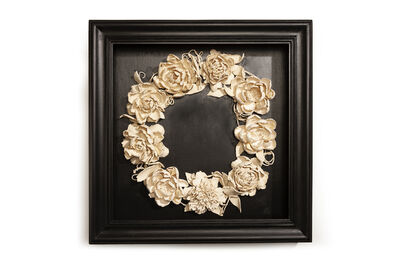 Marcy Lally, 'Peony Wreath', 2018