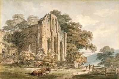 Thomas Girtin, 'Valle Crucis Abbey, Denbighshire, North Wales', 1794