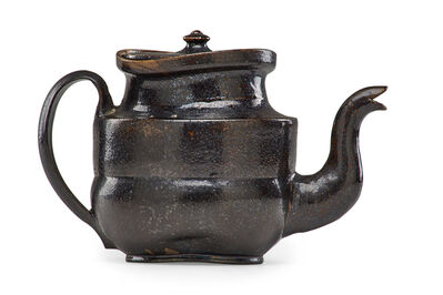 George Ohr, 'Teapot with ear handle', 1897-1900