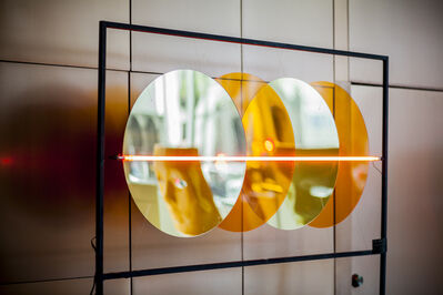 Frida Harari Sitton, 'Amber Circles Reloaded', 2019