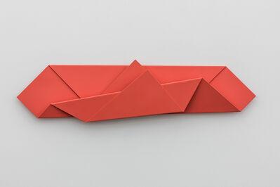 Sébastien de Ganay, 'Red Folded Flat 01', 2015