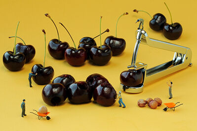 Christopher Boffoli, 'Cherry Pitters', 2012