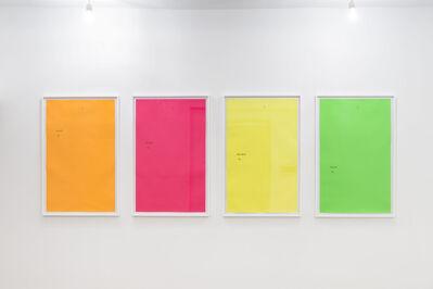 Massimo Bartolini, 'Il Glossatore ignoto', 2017