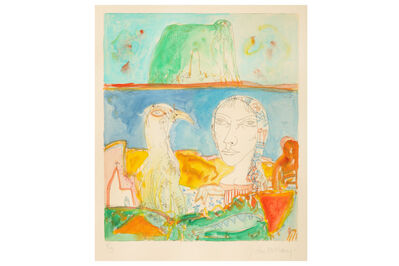 John Bellany R.A., 'Bass Rock Idyll'